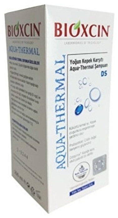 Bioxcin BIOXCIN Aqua-Thermal Yoğun Kepek Karşıtı DS Şampuan 200 ml - Tüm Saç Tipleri Renksiz